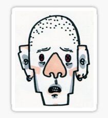 Skinheads Get Scared Too Sticker