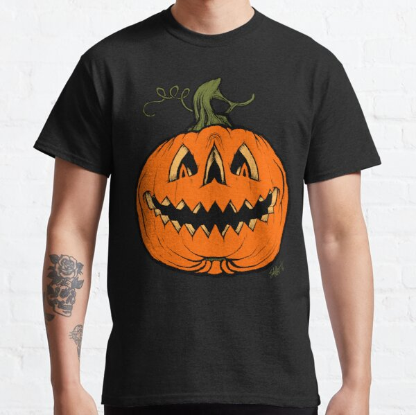 Grim Grinning Gourd Classic T-Shirt