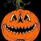 Grim Grinning Gourd by Chad Savage