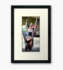 rider world champions Framed Print