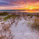 Sunset at Manasota Beach by bengraham