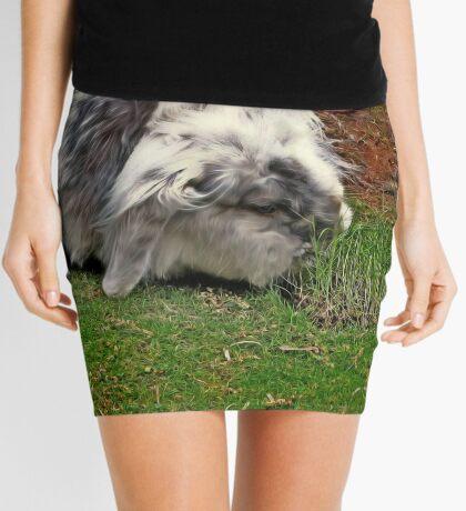 The luscious strip Mini Skirt