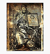 Cult of the Great Pumpkin: Worm King Photographic Print