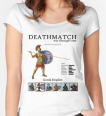 History Deathmatch Women's Fitted Scoop T-Shirt