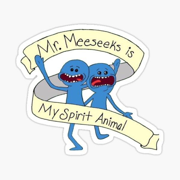 Mr. Meeseeks Sticker
