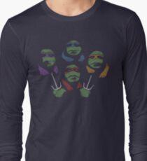 Ninja Rhapsody (multi colors) Long Sleeve T-Shirt