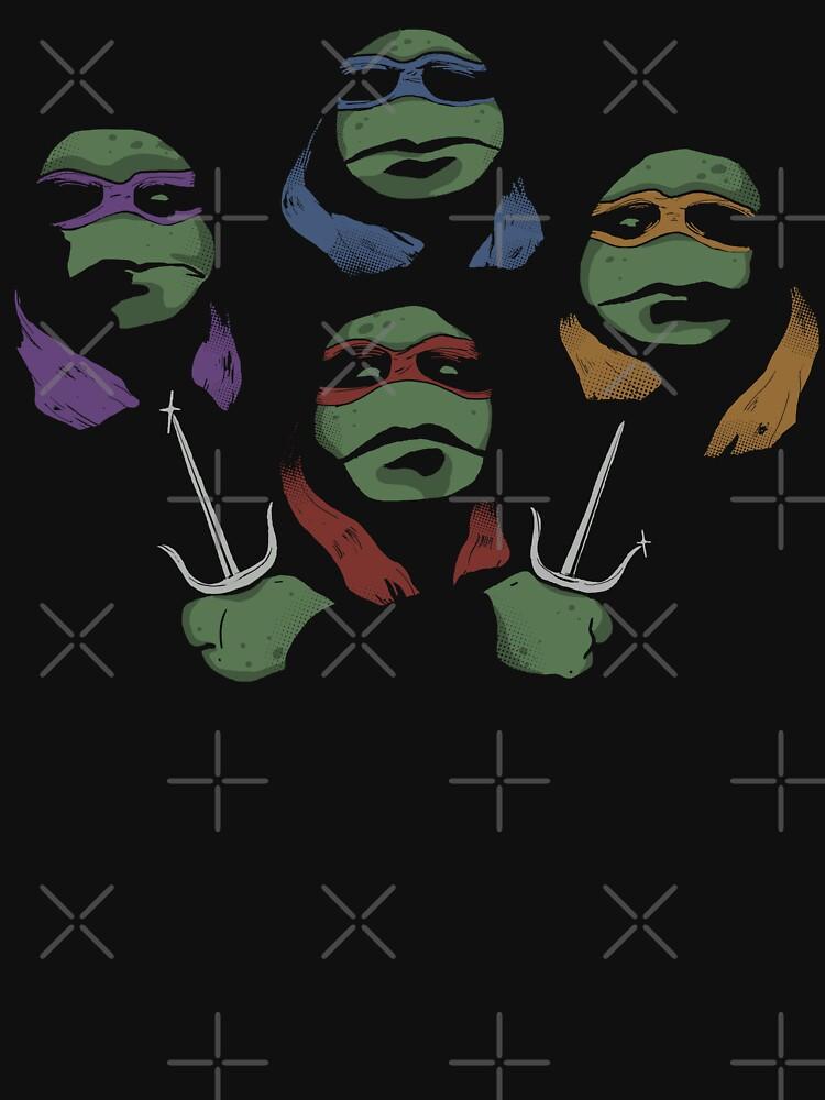Ninja Rhapsody (multi colors) | Unisex T-Shirt