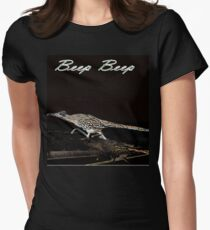 Beep Beep Womens Fitted T-Shirt
