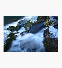 Middle McCloud Falls III Photographic Print