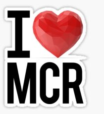 d4426123eaca I Love Manchester Stickers | Redbubble
