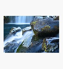 Middle McCloud Falls II Photographic Print