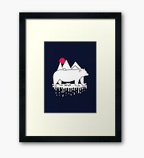 Polar Bears Framed Print