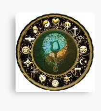Tree of Life, World Peace, Religous Symbols Canvas Print