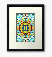 Hearth Mandala  Framed Print