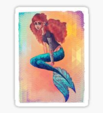 Danae Mermaid Sticker