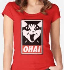 O HAI Women's Fitted Scoop T-Shirt