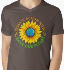 People's Climate Change March on Washington Justice 2017 Men's V-Neck T-Shirt