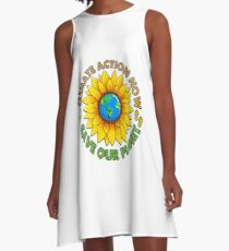 People's Climate Change March on Washington Justice 2017 A-Line Dress