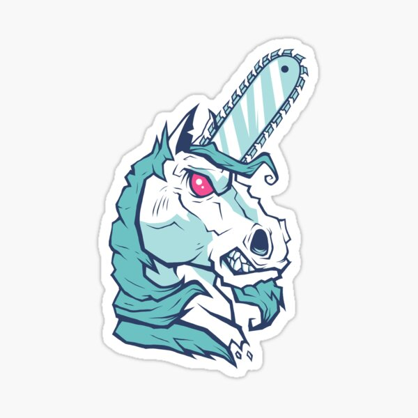 Brutal Unicorn Sticker