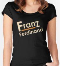 WARKOP FERDINAND 2017 FRANZ Women's Fitted Scoop T-Shirt