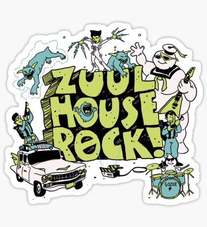 Zuul House Rock Sticker