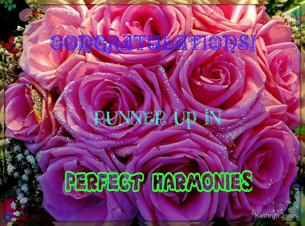 Perfect Harmonies - Runner Up Banner by Kathryn Jones