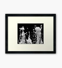 The Waters. Framed Print