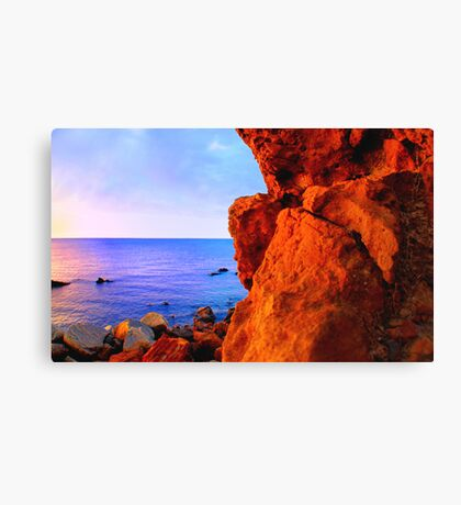 It's all about the rock... Canvas Print