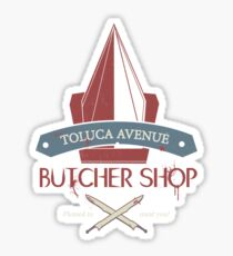 The Silent Butcher Sticker