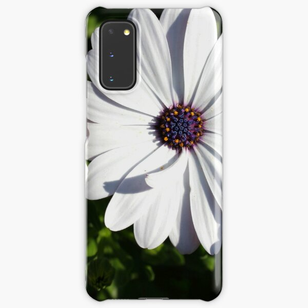 Purple and White Daisys Samsung Galaxy Snap Case