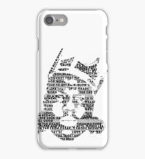 Biggie It Was All A Dream (White) iPhone Case/Skin