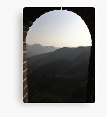 The Great Wall Wonder of the World Canvas Print