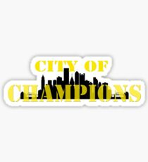 City of Champions Sticker