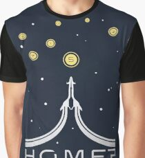 Golden Worlds: Home? (Dark) Graphic T-Shirt