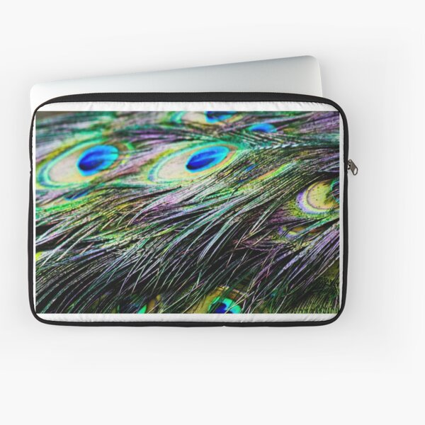 Peacock Pattern Laptop Sleeve
