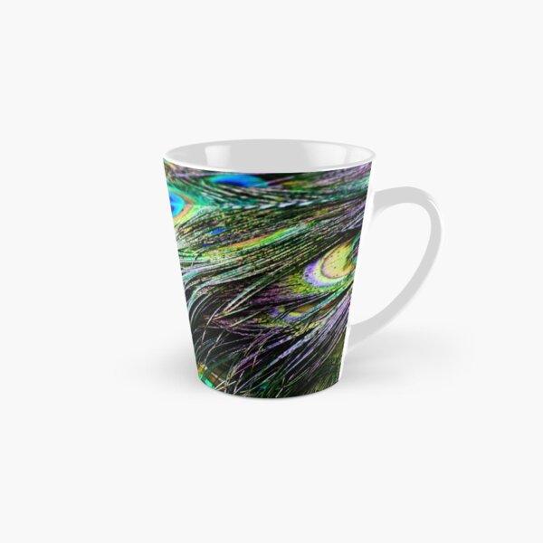Peacock Pattern Tall Mug