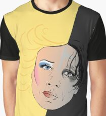 Hedwig and the Angry Inch Split Face  Graphic T-Shirt