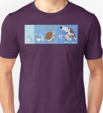 Squirtle Evolution Line Unisex T-Shirt