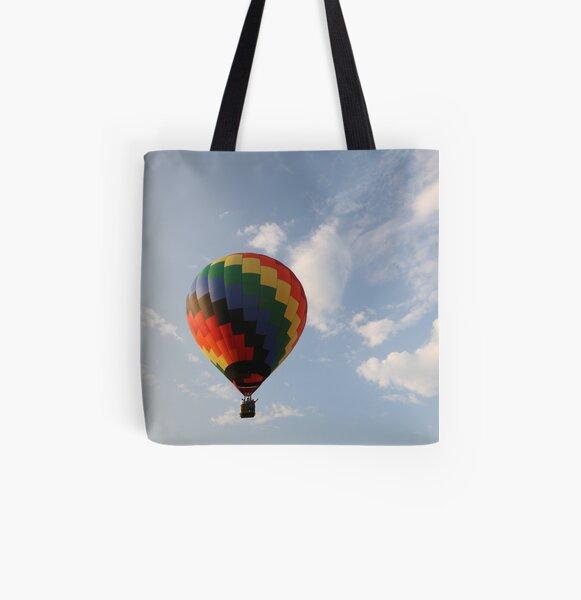 Hot Air Balloon All Over Print Tote Bag