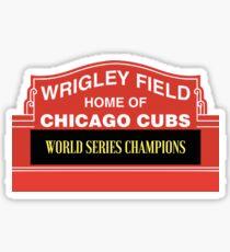 Chicago Cubs World Series  Sticker