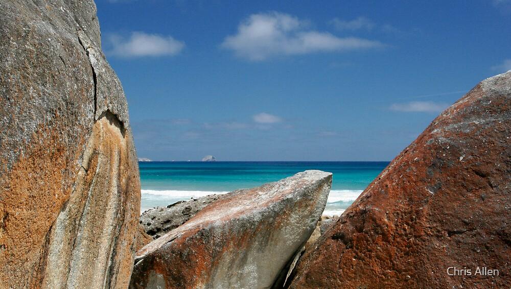 Rock sky counterpoint by Chris Allen