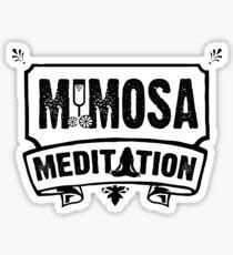 Mimosa Meditation Sticker
