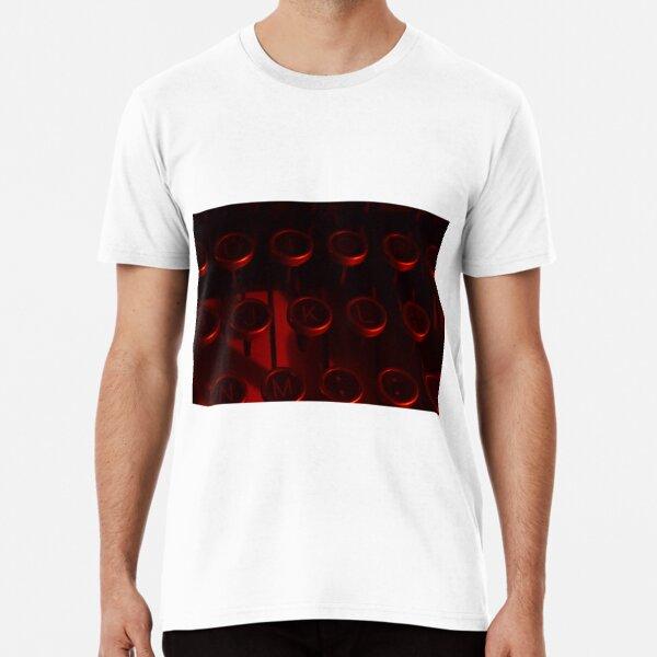 Typewriter Keys Premium T-Shirt
