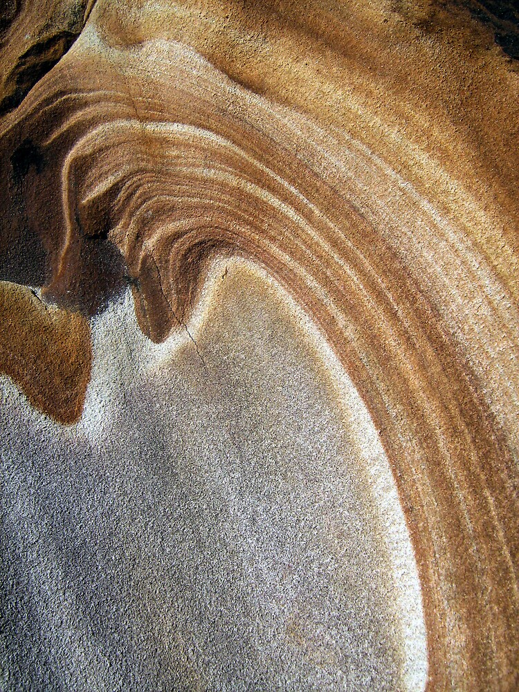 Sandstone pattern 1 by Patricia  Knowles