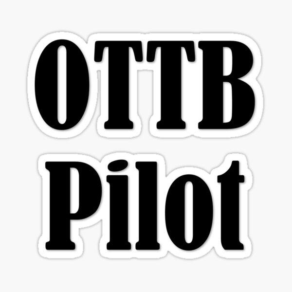 OTTB Pilot Sticker