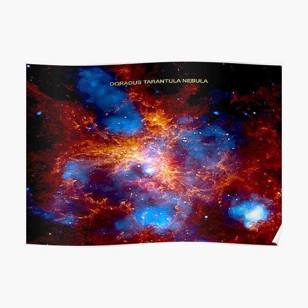 Doradus Tarantula Nebula, RBSSG Poster