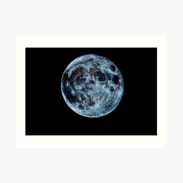 Death Moon  Art Print