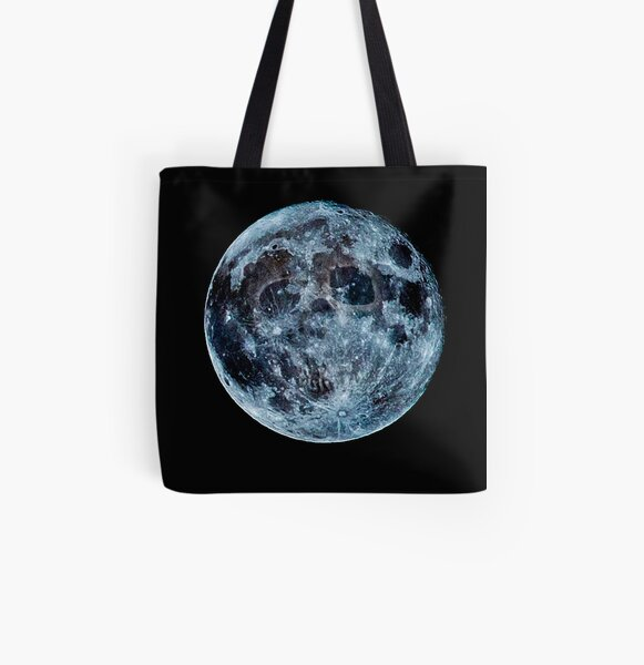 Death Moon  All Over Print Tote Bag