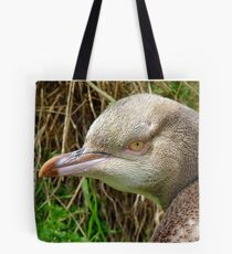 Do I Look Grumpy? - Rare Yellow Eyed Penguin - NZ Tote Bag