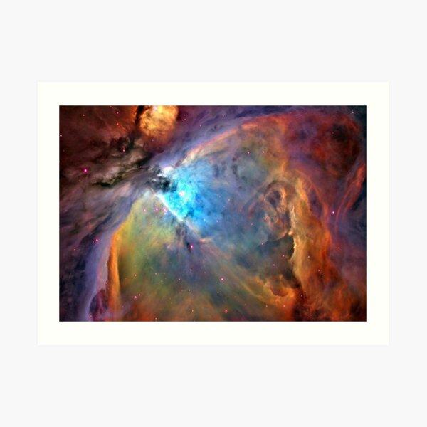 Orion Nebula Space Galaxy, RBSSG Art Print